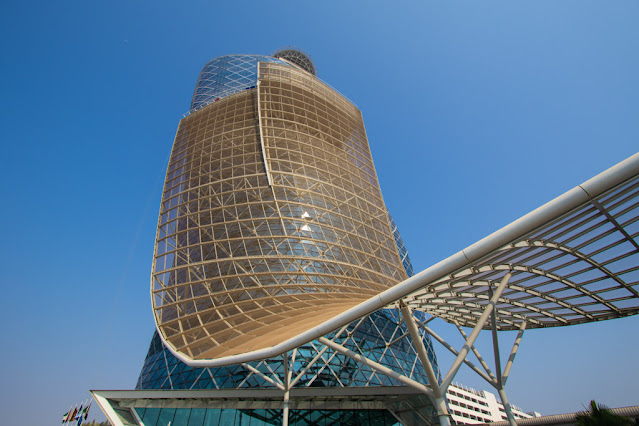 Grattacielo Capital gate-Abu Dhabi