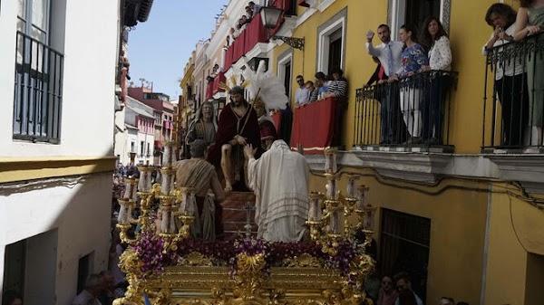 Sayones y romanos: Secundarios con mensaje en la Semana Santa de Sevilla
