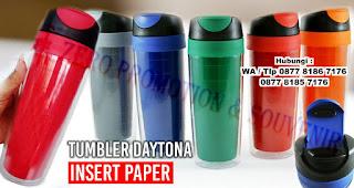 Tumbler Daytona Insert Paper merupakan salah satu model tumbler insert paper