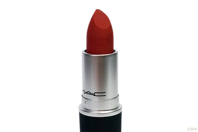 MAC Powder Kiss Lipstick in Devoted to Chili