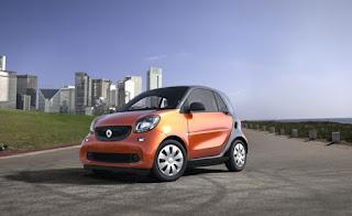 2018 Smart Fortwo - voitures les moins chères