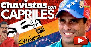 Capriles cada vez más rojo exige a EEUU el fin de las sanciones