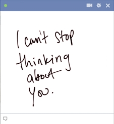 I Can't Stop Thinking About You Emoticon