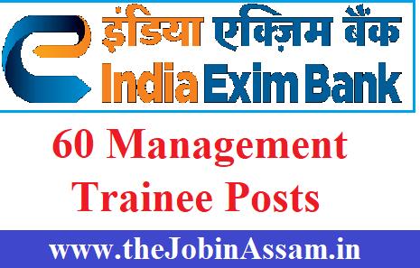 Exim Bank of India Recruitment 2020
