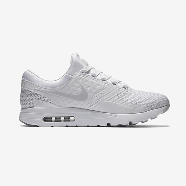 Nike Air Max Zero QS. White, Pure Platinum, Pure Platinum. 789695-102
