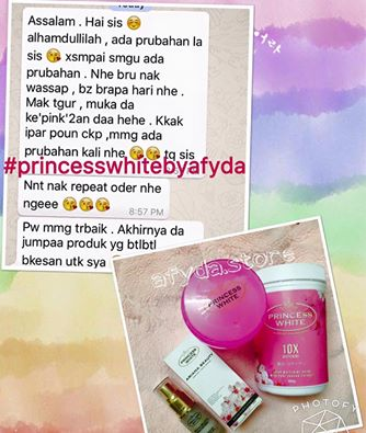 testimoni Princess White Drinks,