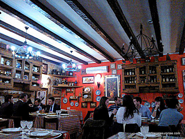 Comer em Coimbra, Portugal - Restaurante O Serenata