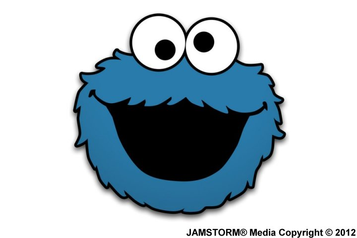 Cookie Monster Face Template | www.imgkid.com - The Image ...