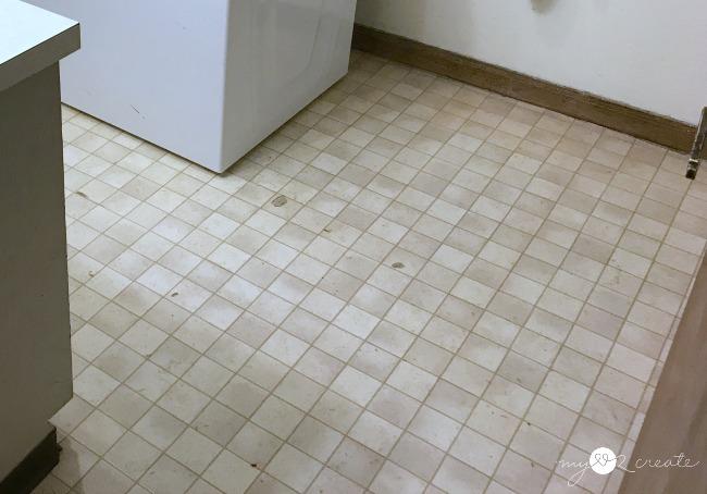 old nasty floor
