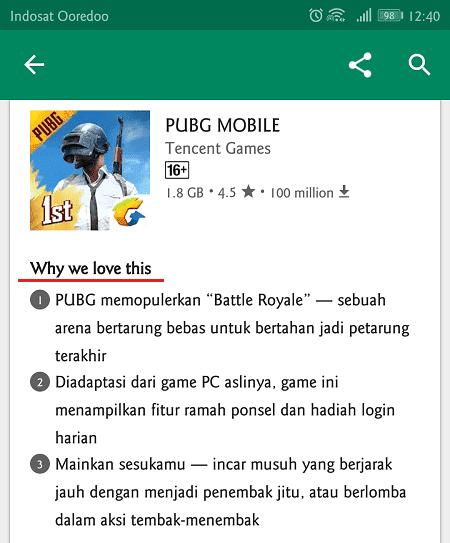 pubg memiliki kelebihan tersendiri dibandingkan game mobile lainnya