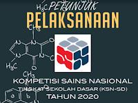 Petunjuk Pelaksanaan KSN SD Tahun 2020 (OSN diganti nama KSN)