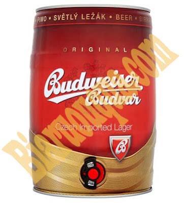 Bom bia Budweiser Budvar 5L