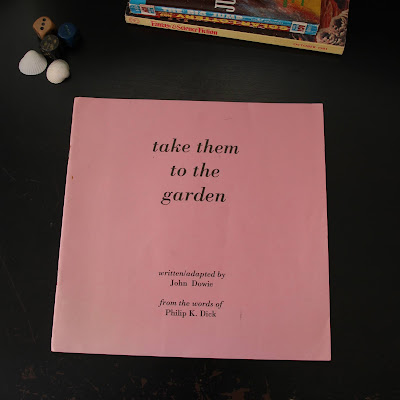 "Programmheft von ""Take Them to the Garden"""