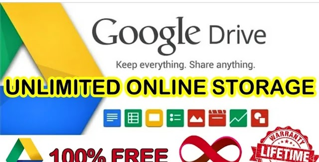 How to get google Drive Unlimited Storage Free Lifetime.