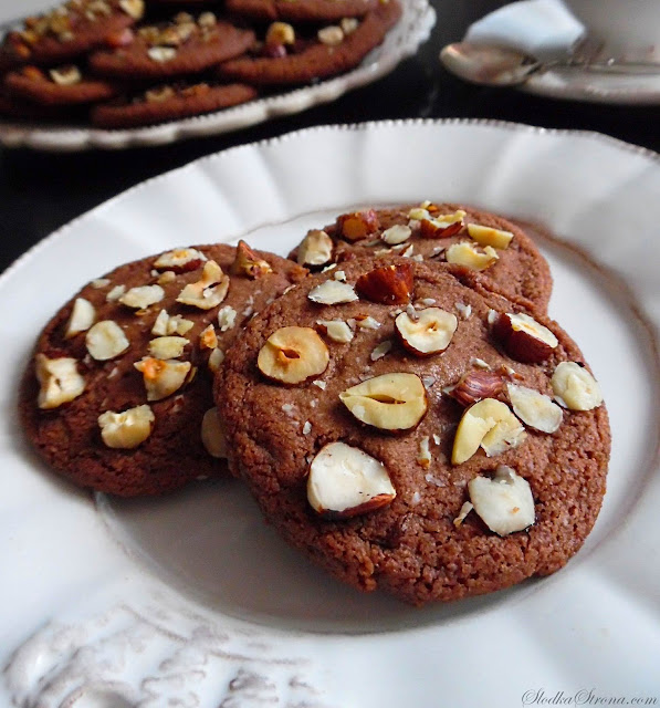 Ciasteczka z Nutellą - Przepis - Słodka Strona