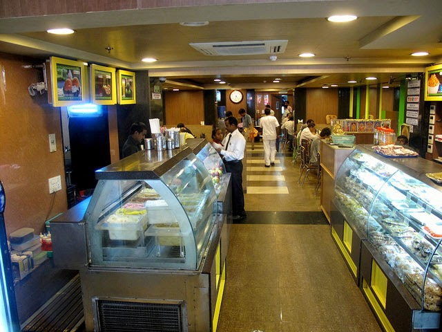 Sarvana Bhawan in Connaught Place, Delhi