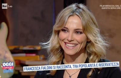 Francesca Fialdini sorriso denti