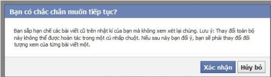 """Chon """"xac nhan"""" de tien hanh buoc tiep theo"""