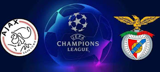 Ajax Amsterdam vs Benfica Live Streaming Today 23-10-2018 Uefa Champions League