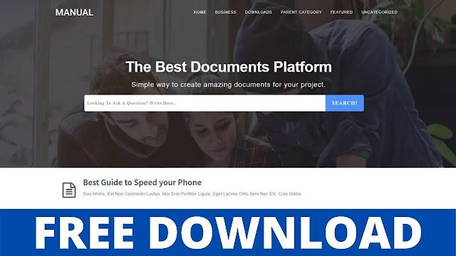 Download Manual v3.0 - Online Docs Blogger Template