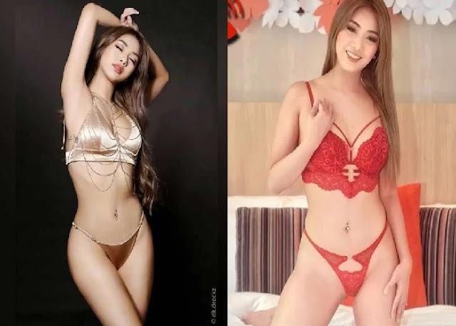 Carla Chao Top 10 Sexy Photo, Malaki ang Bibig