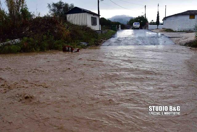 Προσοχή: Έντονα καιρικά φαινόμενα και σήμερα στην Πελοπόννησο