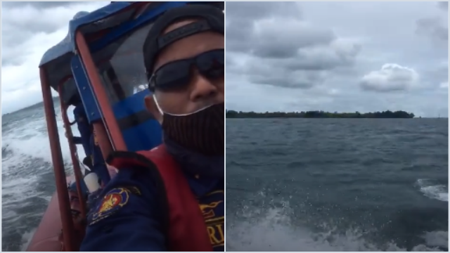Merinding, Petugas Sisir Lokasi Jatuhnya Sriwijaya Air, Terdengar Suara Minta Tolong