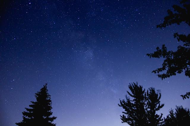 ink + adventure: a starry summer night