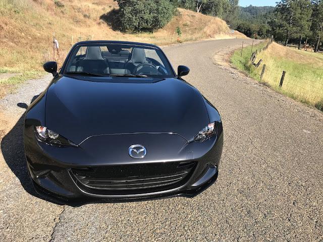 Front view of 2020 Mazda MX-5 Miata Club