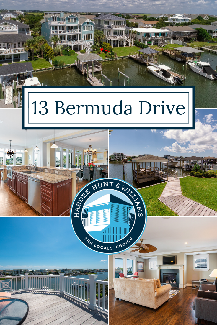 Waterfront Home on Bermuda Drive in Wrightsville Beach, NC