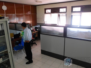 Sekat Kantor Modern Tahun 2021 + Furniture Semarang