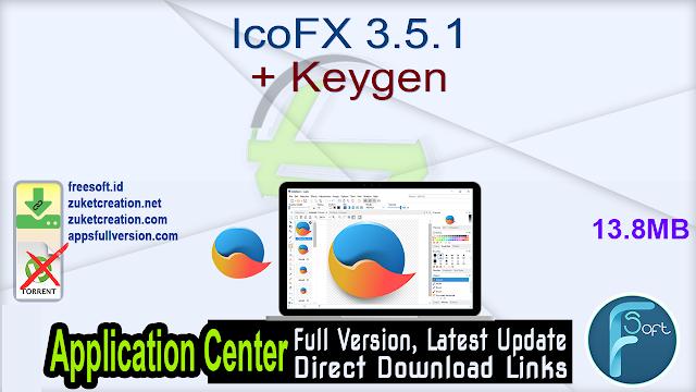 IcoFX 3.5.1 + Keygen