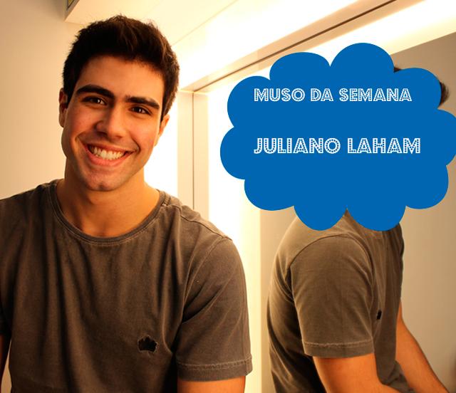Juliano Laham, o Rômulo de Malhação é o muso da semana