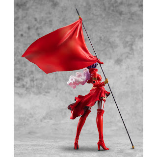 P.O.P. Limited Edition East Army Commander of the Revolutionary Army Belo Betty 1/8 de One Piece, Megahouse