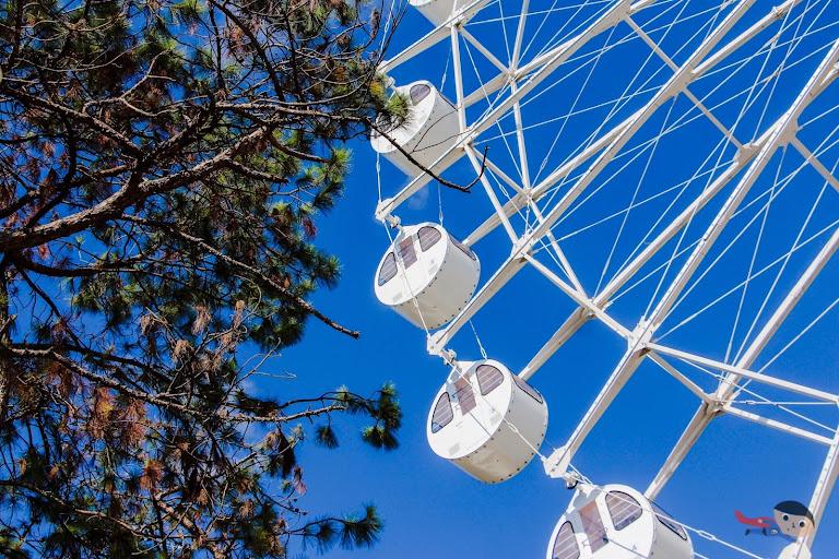 Ferris Wheel of Sky Ranch in Baguio City