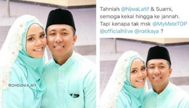 Foto Kahwin 'Najwa Latiff' Jadi Viral, Siapakah Wanita Disebalik Foto Perkahwinan Tersebut