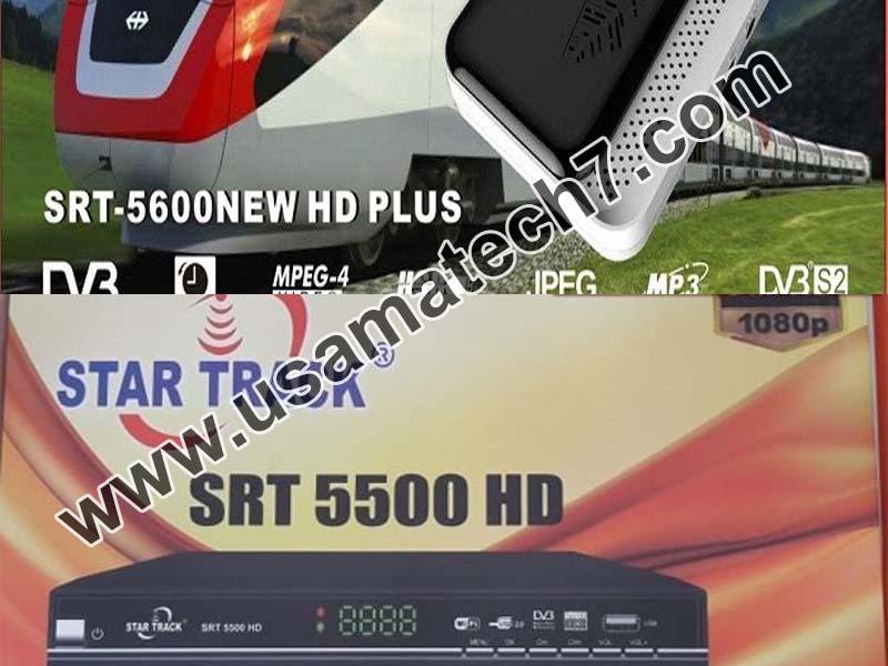 STAR TRACK SRT-5500NEW HD PLUS & STAR TRACK SRT-5600NEW HD