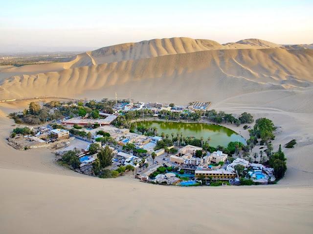 Nơi nghỉ dưỡng và chữa bệnh của những người Peru giàu có