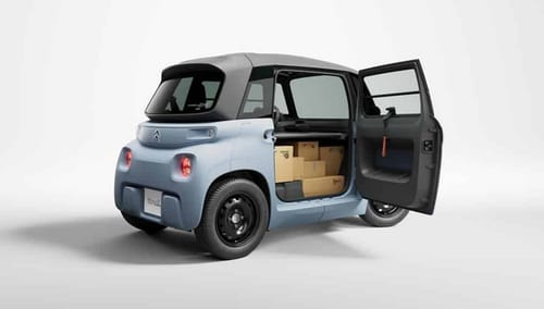 Citroen shows the Ami Cargo delivery truck