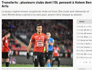 O Flamengo está interessado na contratação do meia Hatem Ben Arfa