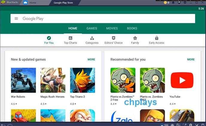 Cách tải CH Play - Google Play Store về máy tính, laptop đơn giản, dễ dàng a