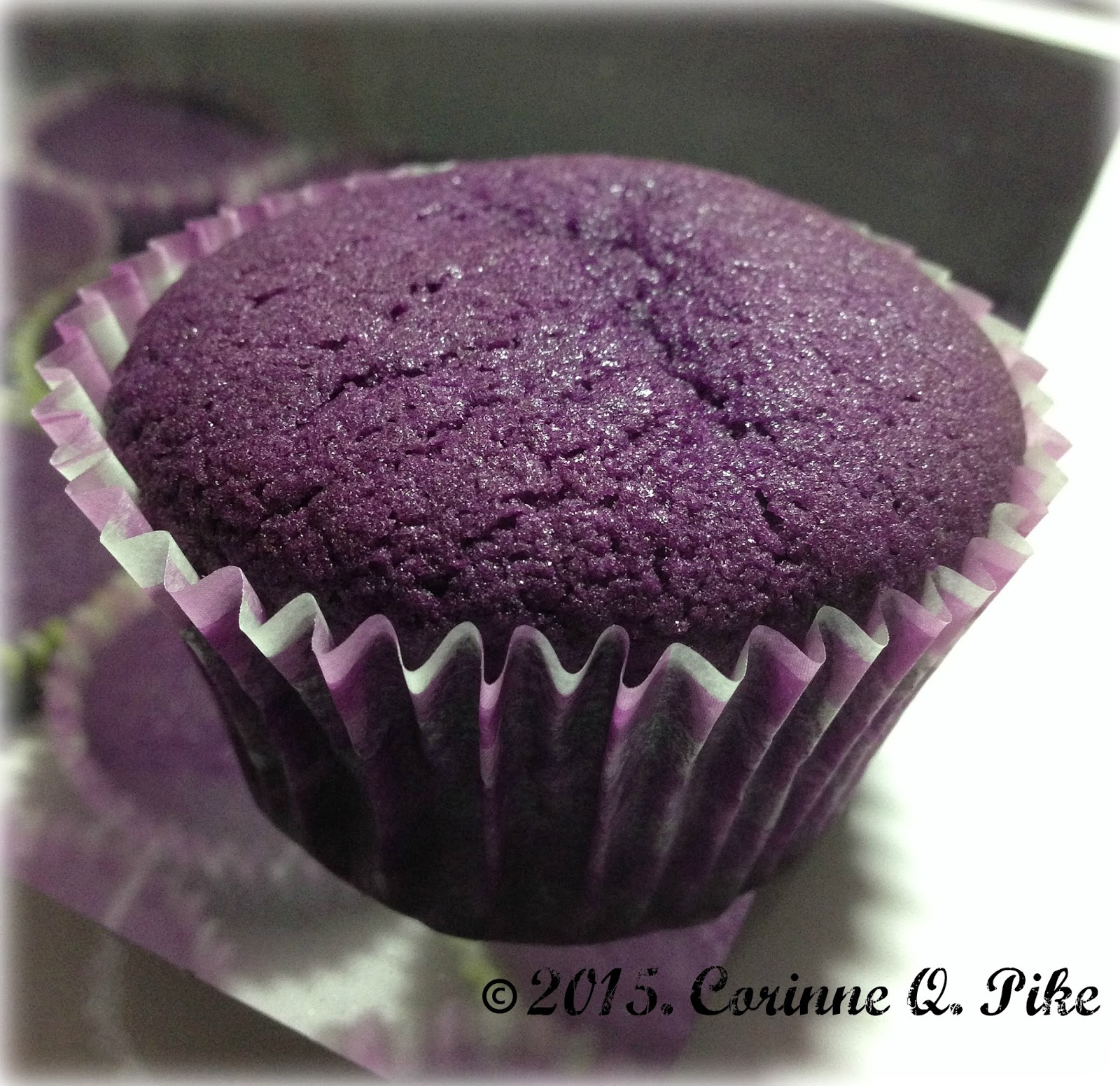 Ube Powder Cake Recipe