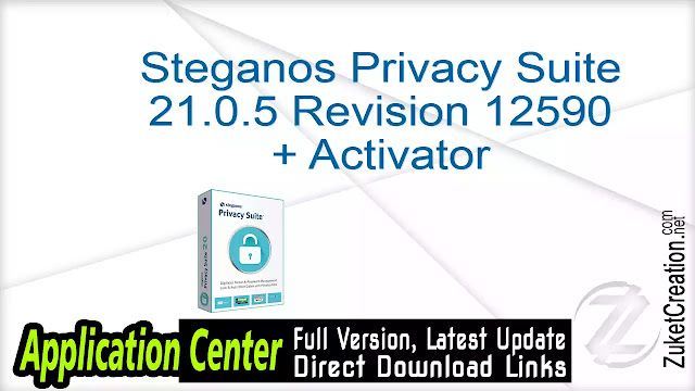 Steganos Privacy Suite 21.0.5 Revision 12590 + Activator