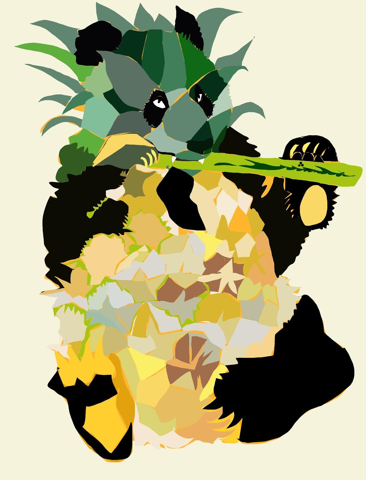 Panda and Pineapple chromosplice design