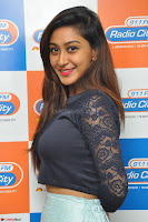 Shravya in skirt and tight top at Vana Villu Movie First Song launch at radio city 91.1 FM ~  Exclusive 22.JPG