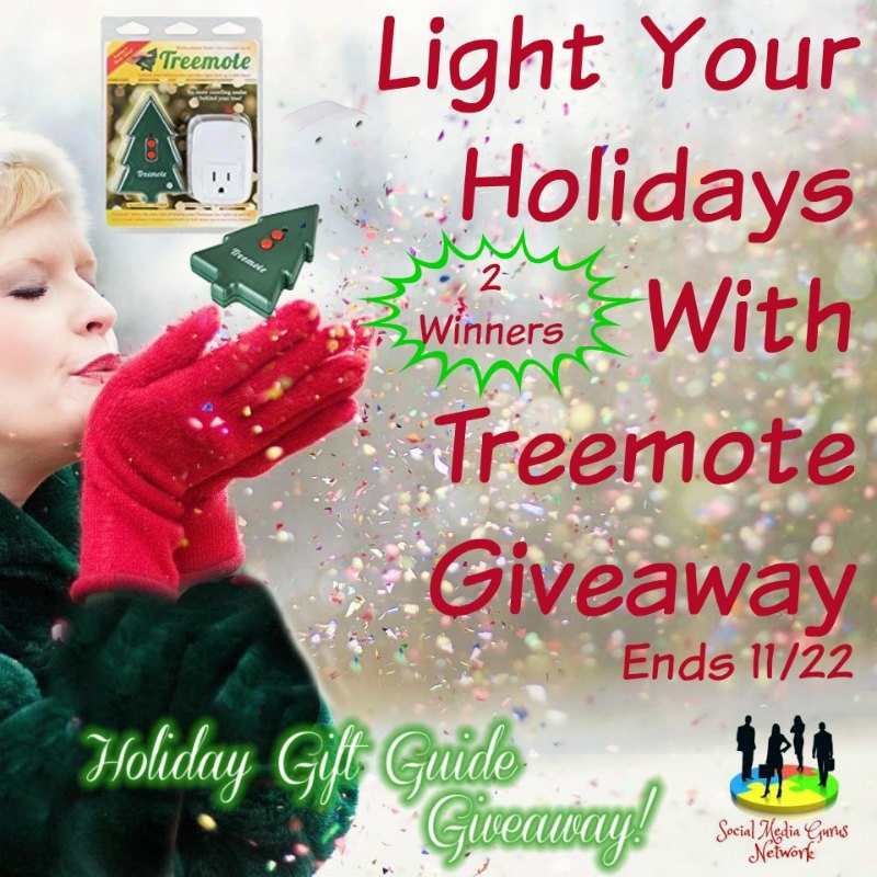 Light Your Holidays With Treemote