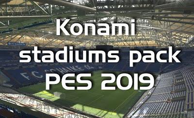 PES 2019 - Konami stadiums