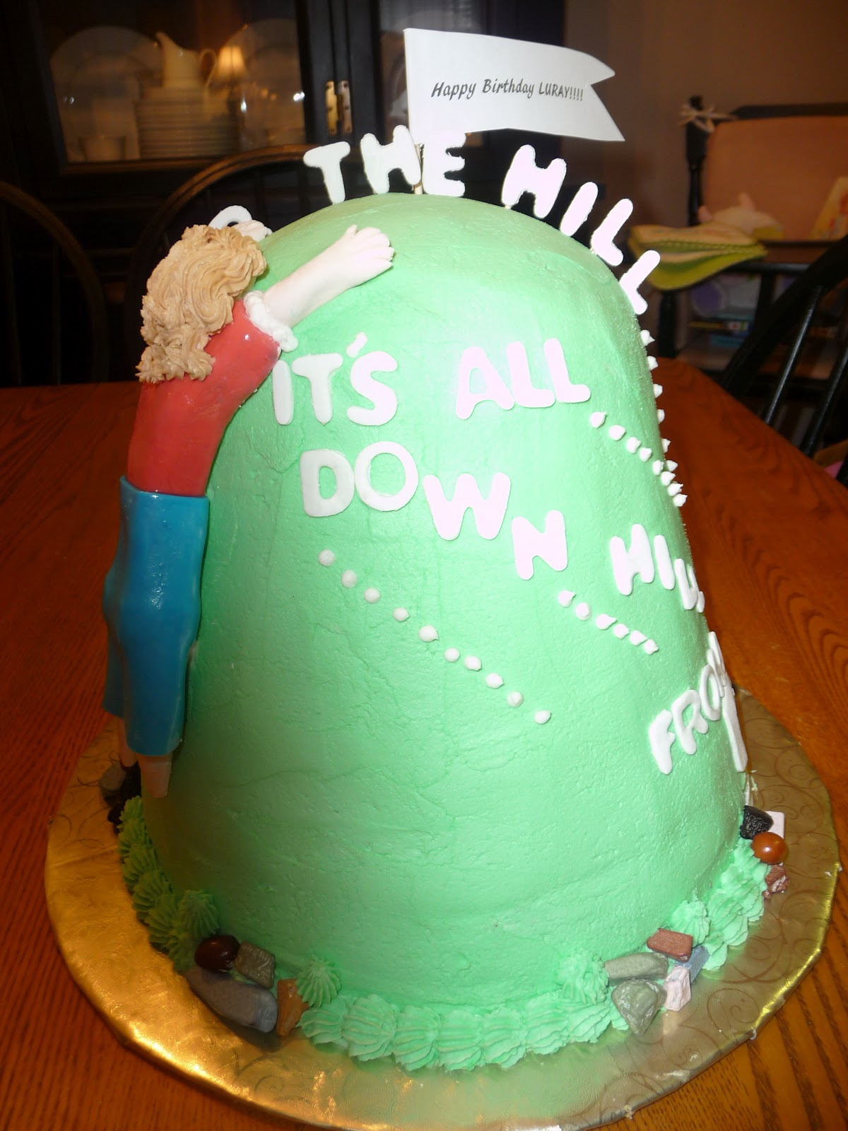 Icing On Top  Cakes for Every Occasion Over the Hill Cake