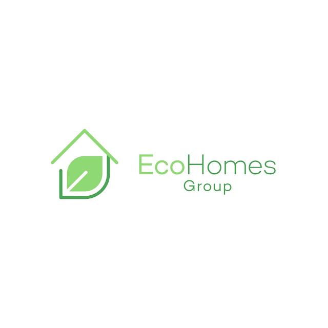 Eco Home Logo Design