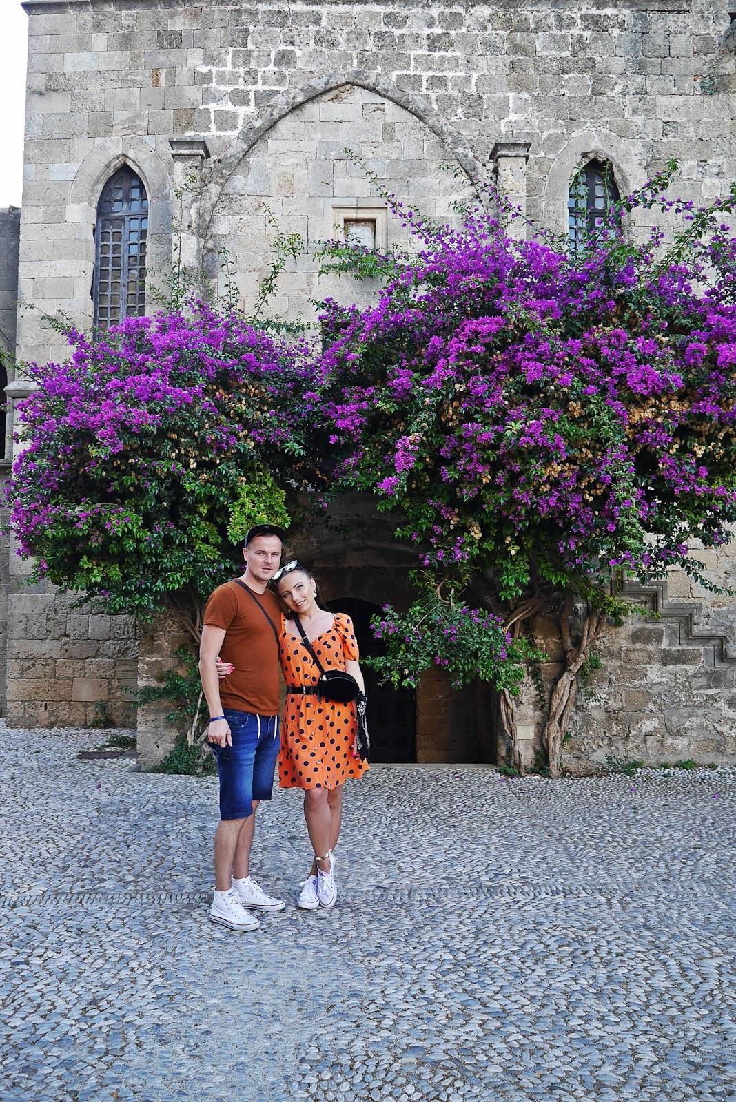 rodos rhodes miasto grecja  karyn blog modowy blogerka modowa podróż poślubna